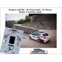 Décal 208 R2 - M. Franceschi  - Rallye d'Antibes 2019