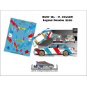 Décal BMW M3 - N. Ciamin  - Rallye Legend Boucles 2020