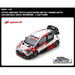Spark Toyota Yaris WRC - K. Rovanpera - Arctic 2020