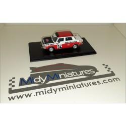 Simca Rallye 2 - B. Fiorentino - Monte Carlo 1973