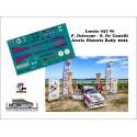 Décal Lancia 037 - F. Delecour - Aleria Historic Rallye 2021
