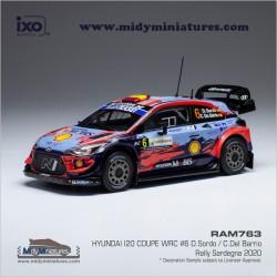 Hyundai I20 WRC - D. Sordo - Sardaigne 2020