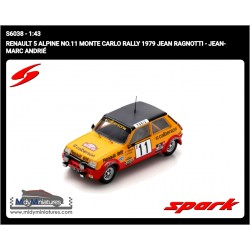Spark R5 Alpine - J. Ragnotti - Rallye Monte Carlo 1979